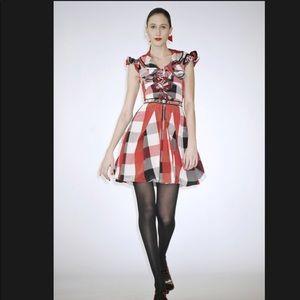 Zac Posen Silk Runway Dress, sz 4
